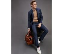 Regular Fit Anzug aus Stretch-Schurwolle