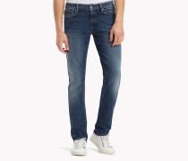 Slim Fit Jeans mit Stretch-Denim
