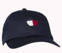 Baseball-Cap mit Herz-Flag