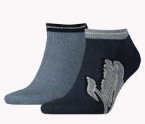 2er-Pack Sneakersocken