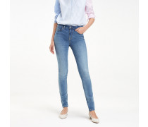 Como Essential Skinny Fit Jeans mit Stretch