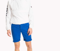 Straight Fit Shorts aus Twill