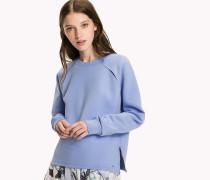 Sweatshirt mit Schulterschlitz
