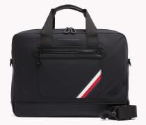 Leichtgewichtige Laptop-Tasche mit Streifen