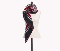 Schal mit abstrakten Streifen