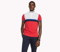 Slim Fit Poloshirt mit Blockfarben