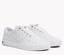 Lace-Up Sneaker mit Spitze