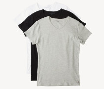 Baumwoll-T-Shirts im Dreierpack