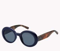 Ovale Sonnenbrille