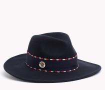 Fedora Hut aus reiner Wolle