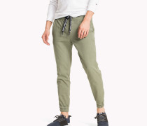 Jog-Chinos aus Stretch-Baumwolle