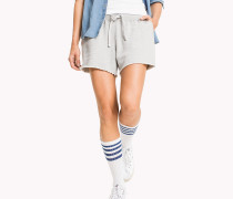Overdyed Shorts aus Baumwolle