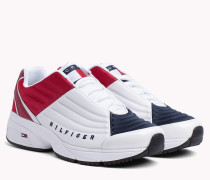 6.0 Low-Top Sneaker mit Wappen
