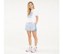 Relaxed Fit Shorts mit Streifen