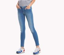 Stretch-Jeans mit Fade-Effekt