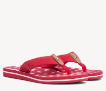 Strand-Sandale mit Prägung