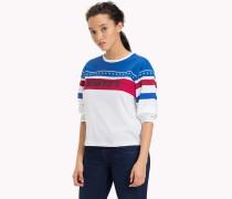 Racing-T-Shirt aus reiner Baumwolle
