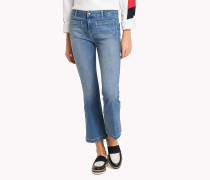 Bootcut Jeans im Cropped-Style