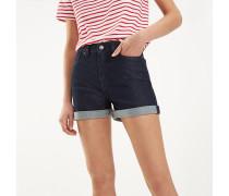 Essential Jeanshorts mit hoher Leibhöhe