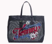 Tote-Bag mit Blumenprint