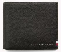Clip-Brieftasche aus weichem Leder
