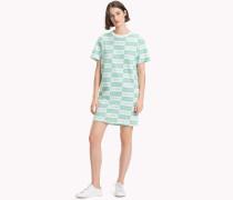 Athleisure T-Shirt-Kleid mit Logo