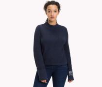 Pullover mit diagonaler Naht