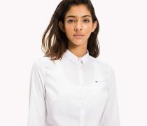 Slim Fit Hemd aus Popeline