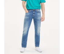 Straight Fit Stretch-Jeans