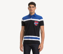 Regular Fit Poloshirt mit Blockfarben