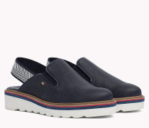Perforated Slip-On Shoes