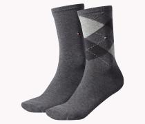 Baumwollmix-Socken im Doppelpack