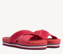 Sandale im Espadrille-Style