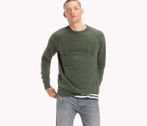 Logo-Sweatshirt aus Frottee