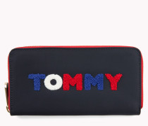 Brieftasche mit Tommy Hilfiger-Monogramm