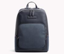 Rucksack mit kontrastierender Textur