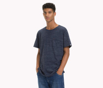 Meliertes Relaxed Fit T-Shirt