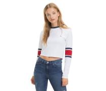 Cropped Fit Langarmshirt