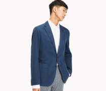 Slim Fit Blazer aus Denim