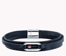 Smooth Leather Wrap Bracelet