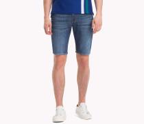 Straight Fit Denim-Shorts