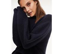 Alpakamix-Pullover mit Mock Neck
