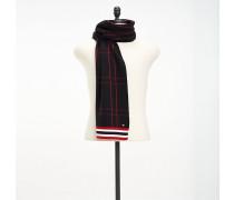 Karierter Strick-Schal