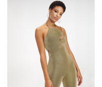 Zendaya Metallic Jumpsuit