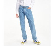 Relaxed Fit Jeans mit Stone-Wash