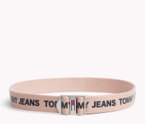 Canvas-Gürtel mit Tommy Jeans-Logo