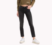Jeans mit mittlerer Leibhöhe