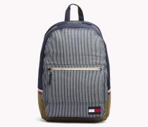 Canvas-Rucksack mit Laptop-Hülle