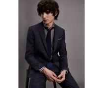 Slim Fit Anzug aus Schurwolle