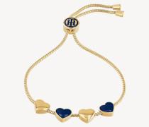 Vergoldetes Armband mit Herz-Anhänger